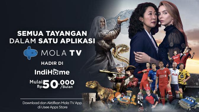Mola TV App Hadir di IndiHome dengan Berbagai Tayangan Liga Bergengsi