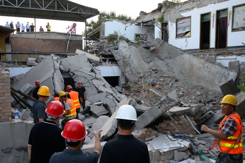 Restaurant collapse in China's Shanxi kills 29