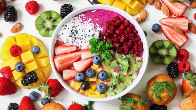Ilustrasi makanan berserat | Pexels