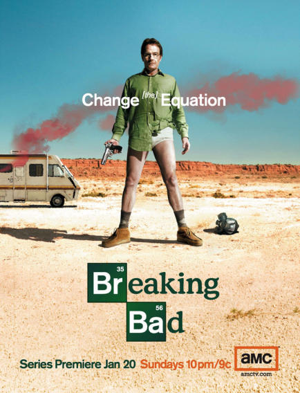 """Breaking Bad"" Season 1 Poster"