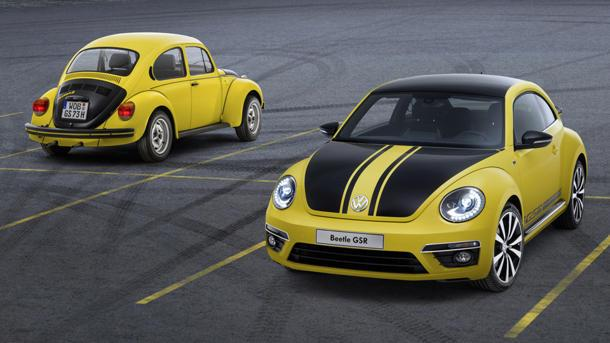 2014 Volkswagen Beetle GSR recalls the original bumblebee
