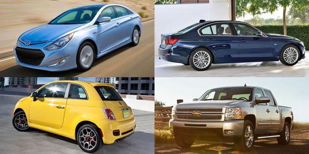 Top new car lease and finance deals for November 2012
