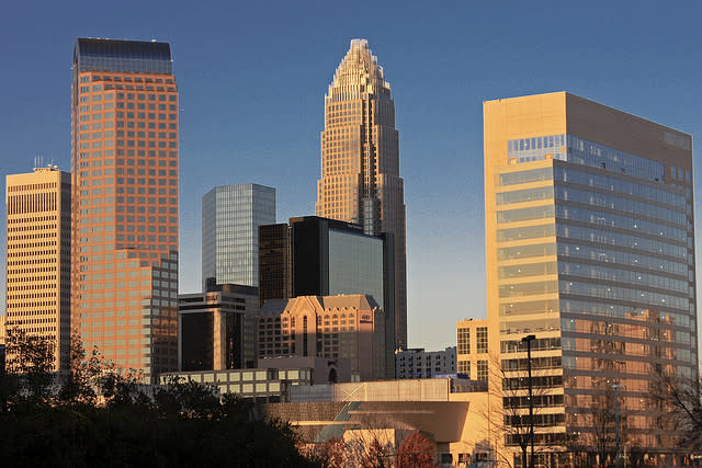 4. Charlotte, N.C. (53 points)