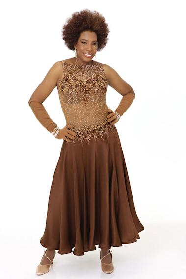 "Singer Macy Gray competes in season 9 of ""Dancing with the Stars."""
