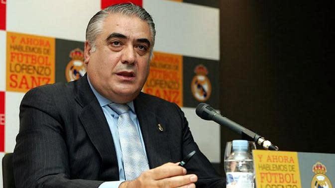 Mantan presiden Real Madrid, Lorenzo Sanz, terinfeksi virus corona COVID-19 (Foto: Ist)