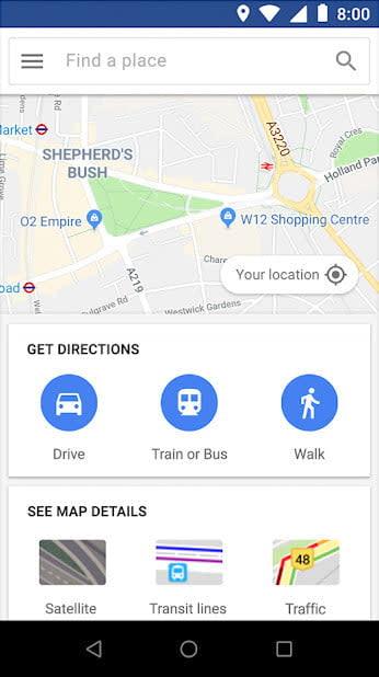 best lite apps maps go 2