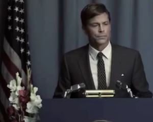 Killing Kennedy Trailer: Get a First Look at Rob Lowe and Ginnifer Goodwin in Nat Geo Telepic