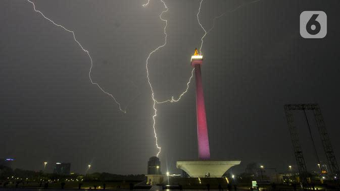Cuaca Hari Ini: Waspada Potensi Hujan Disertai Petir dan Angin Kencang di Jakarta