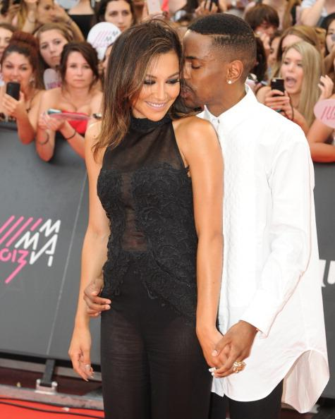 'Glee' Star Naya Rivera and Rapper Boyfriend Big Sean Get Cozy at MuchMusic Awards