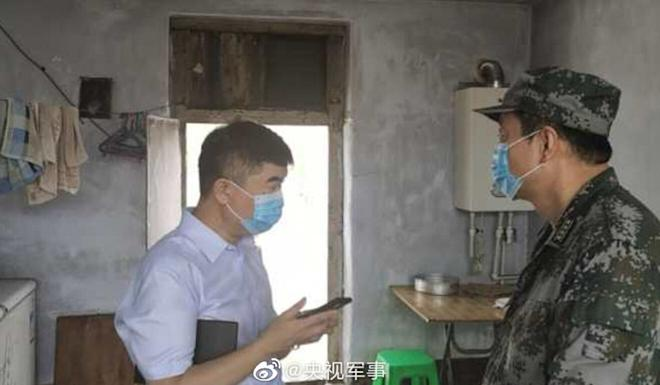 There were no reports of anyone being hurt in Sunday's quake. Photo: Weibo