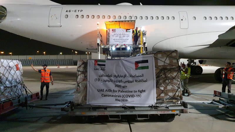 Abu Dhabi's Etihad makes first known flight to Israel, carrying Palestinian aid