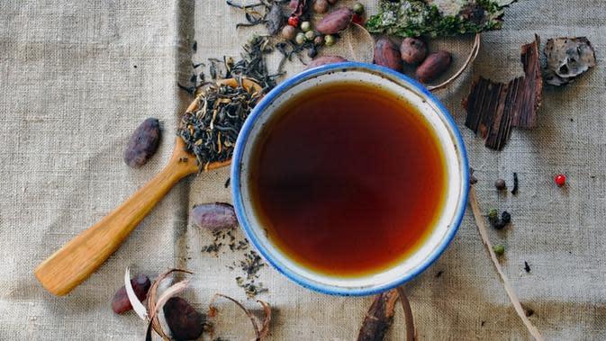 Ilustrasi teh herbal (Dok.Unsplash)