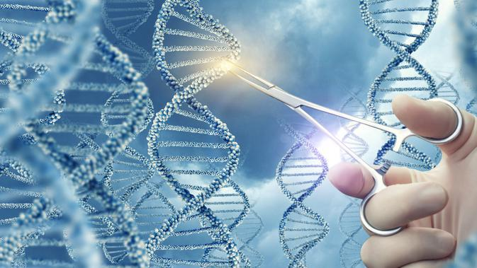 Ilustrasi DNA dan Genetik (iStockphoto)