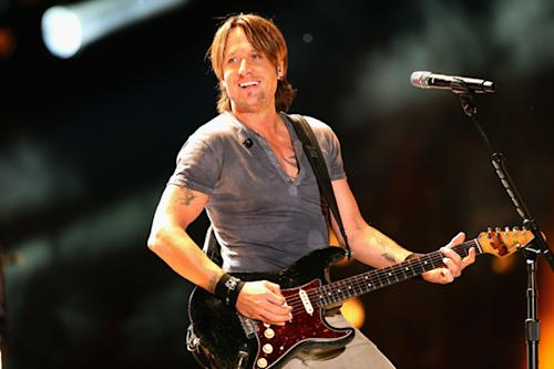 In the Studio: Keith Urban Looking to Make Country's 'Achtung Baby'