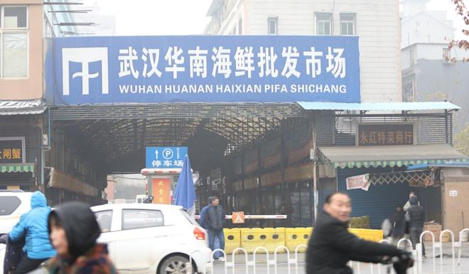 The Huanan Wholesale Seafood Market is at the centre of the outbreak. Photo: Simon Song
