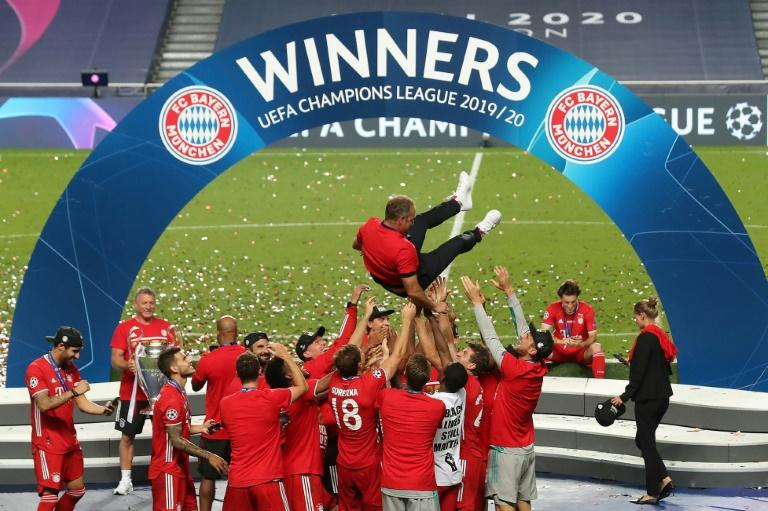 Flick delights at 'crazy' growth of treble-winners Bayern Munich