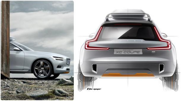 Volvo's Concept XC Coupe rolling into Detroit