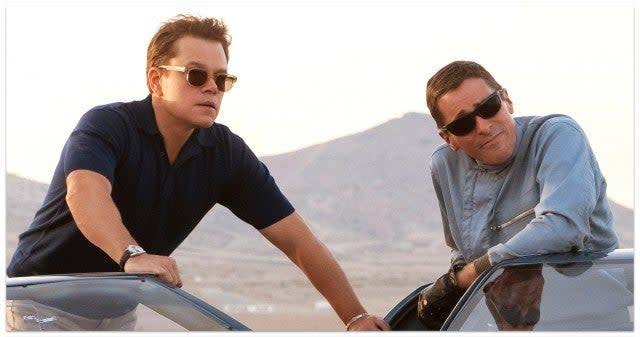 Ford v Ferrari, Matt Damon, Christian Bale