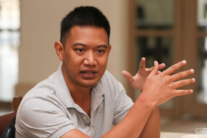 Amir Ahmad speaks to Malay Mail during an interview September 5, 2020. — Picture by Choo Choy May