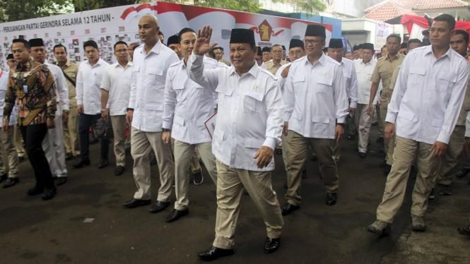 Prabowo Jadi Ketum Lagi, Gerindra Optimis Perlahan Kuasai Legislatif