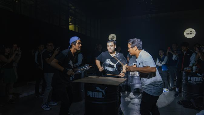 Opening PUMA Spring Summer 2020 Preview Party dari No Name Percussions. Sumber foto: Document/PUMA.