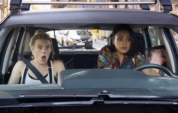 PHOTO: Kate McKinnon and Mila Kunis in a scene from 'The Spy Who Dumped Me.' (Lionsgate)