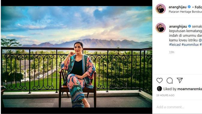 Ashanty - Anang Hermansyah (Foto: Instagram/@ananghijau)