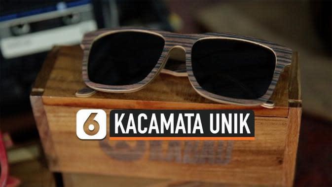 VIDEO: Kreasi Kacamata Unik dari Limbah Papan Skateboard