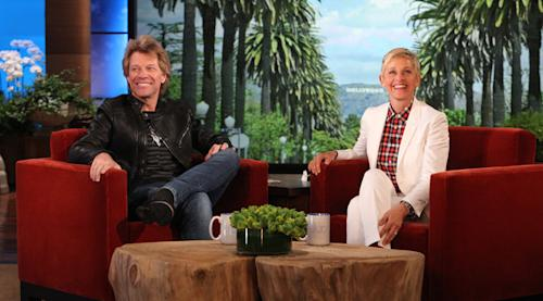 Jon Bon Jovi Comes Clean About Richie Sambora on 'Ellen'