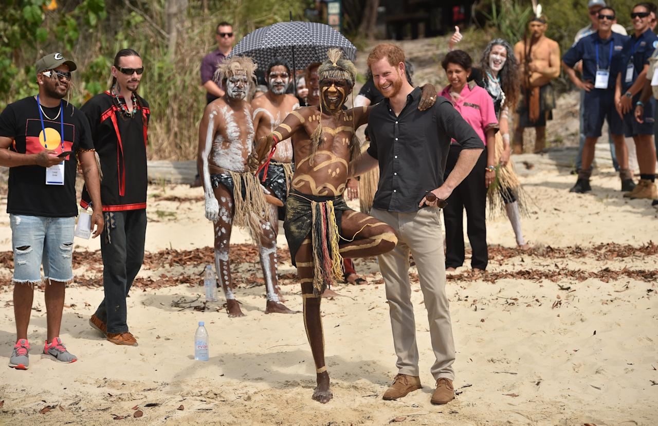 <p>He took the time to speak with local elders and national park rangers to learn about the Island's natural beauty, rich history, biodiversity and cultural significance.Photo: Getty Images </p>