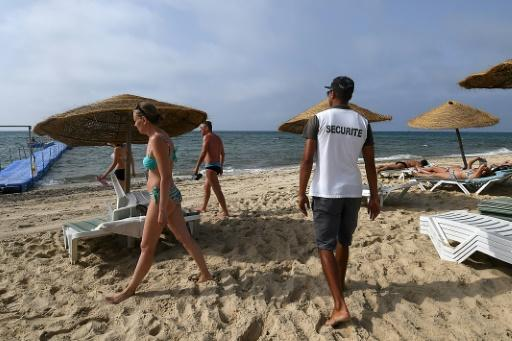 Surveillance cameras have been installed in holiday hotspots and private security staff are stationed at beach entrances, part of efforts to draw foreign visitors back to Tunisia's sandy shores