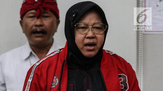 Ajak Gabung PDIP, Risma Pompa Semangat Anak Muda Surabaya