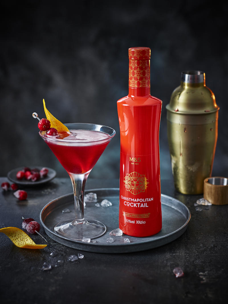Christmapolitan Cocktail, £10