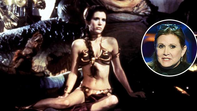 Carrie Fisher: Disney Has Hired Me a Trainer (Is There a Metal Bikini in Her Future?)
