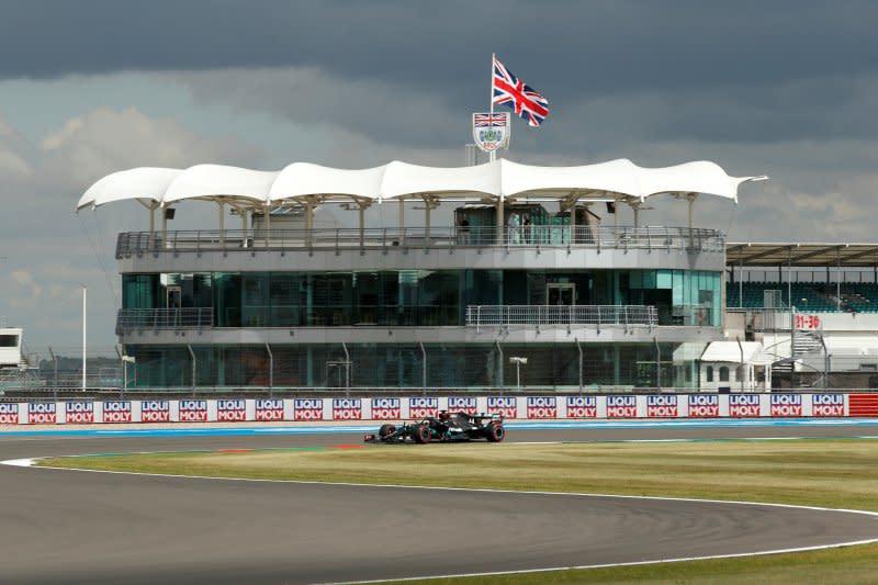 Starting grid GP Britania