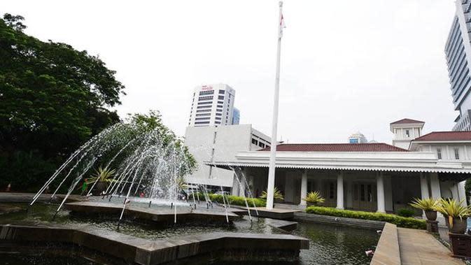 Gedung Balai Kota DKI Jakarta. ©2014 merdeka.com/muhammad lutfhi rahman