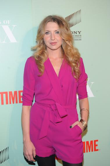 Nina Arianda seen at the premiere screening of MASTERS OF SEX, hosted by SHOWTIME and SONY PICTURES TELEVISION, on Thursday, September 26, 2013 at The Morgan Library and Museum in New York City. (Photo by Brad Barket/Invision for SHOWTIME/AP Images)