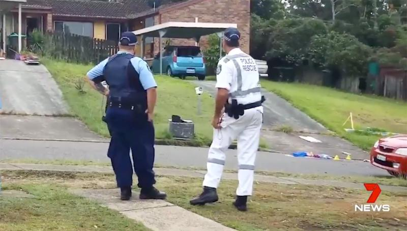 Lake Macquarie stabbing: Man dies in fiancee's arms after trying to save woman