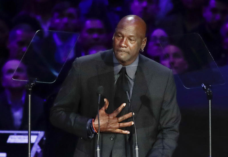 Minneapolis Police Death Michael Jordan