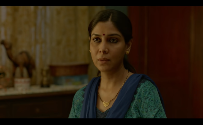 Sakshi Tanwar in a scene from short film 'Ghar Ki Murgi'