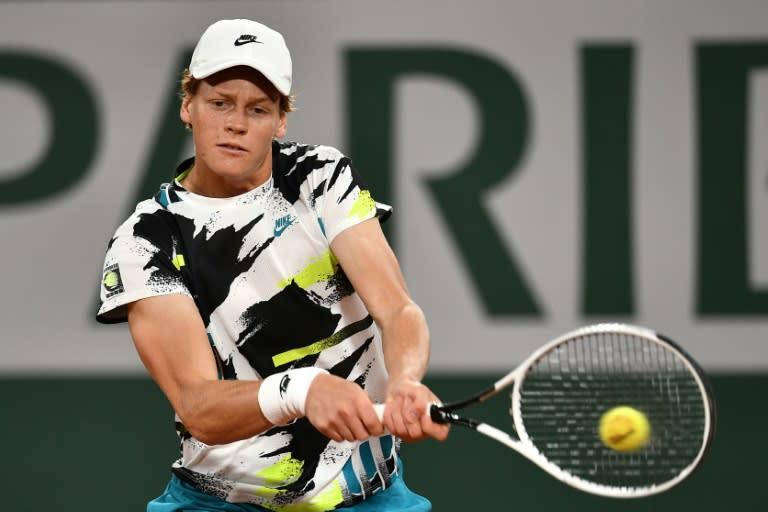 Italian teen Sinner crushes Goffin on Roland Garros debut