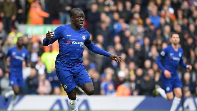 Ngolo Kante (Chelsea). (AFP/Paul Ellis)