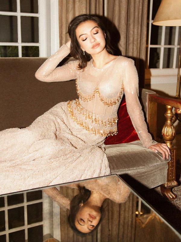 Gaya Pemotretan Raline Shah Disebut Mirip Princess Jasmine, Memukau. (Sumber: Instagram/ralineshah)
