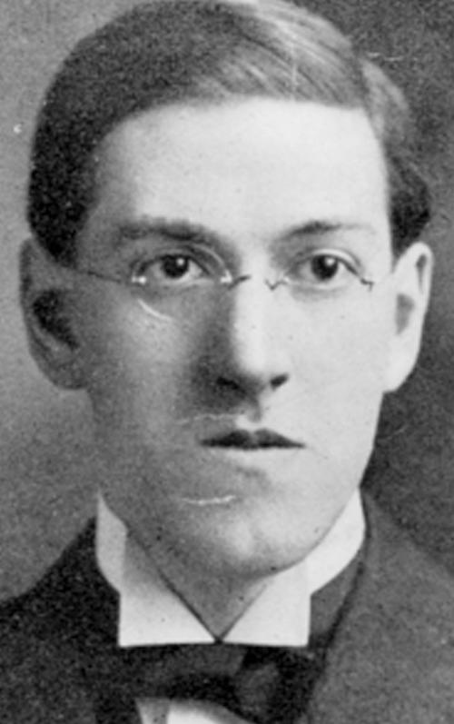 FILE - This undated file photo provided by the John Hay Library at Brown University shows mystery writer and poet H.P. Lovecraft. The author lived most of his life in Providence, R.I., where he cultivated a habit of nearly nonstop letter writing and penned the horror tales for which he is remembered. (AP Photo/Brown University Library, File)