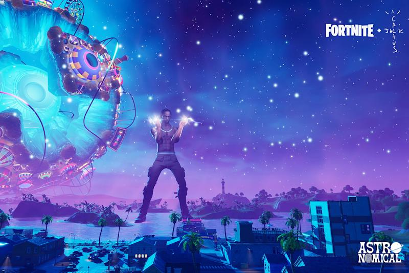 27 million players watched Travis Scott perform in Fortnite