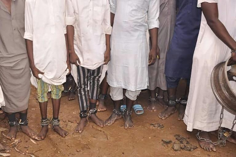 A police raid on an Islamic seminary in Kaduna in northern Nigeria in September found men and boys in shackles. Some said they had been tortured and sodomised after being placed in the institution for 'reform'