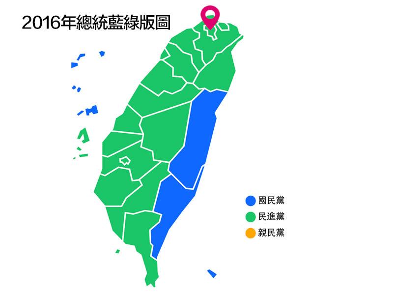 2016總統大選 重寫台灣政治版圖