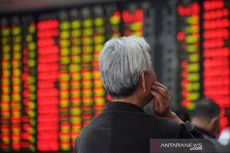 Saham China ditutup bervariasi namun meraih kenaikan migguan ketiga