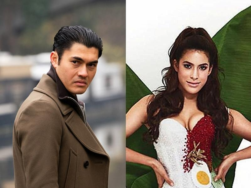 Henry Golding (left) responds to Samantha Katie James (right) following her racist remarks on Instagram.