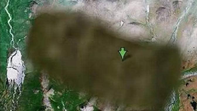 Kota Rahasia di Rusia (Johanna Garner/Google Maps).